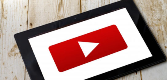 youtubeの再生画面