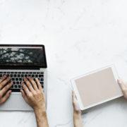 PCとタブレットとスマートフォン